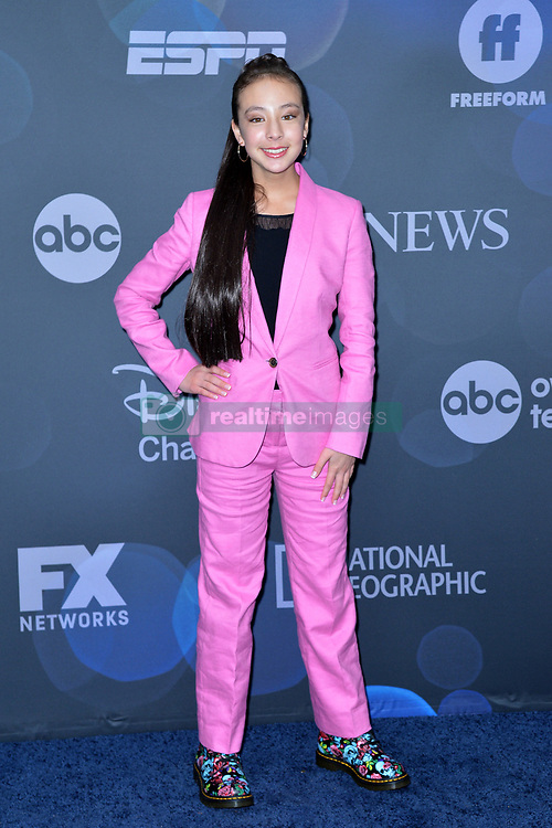 May 14, 2019 - New York, NY, USA - May 14, 2019  New York City..Aubrey Anderson-Emmons attending Walt Disney Television Upfront presentation party arrivals at Tavern on the Green on May 14, 2019 in New York City. (Credit Image: © Kristin Callahan/Ace Pictures via ZUMA Press)