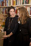 GINEVRA ELKANN; Lady Frances von Hofmannsthal, Aatish Taseer  book launch party for his new book Stranger To History. Travel book asks what it means to be a Muslim in the 21st century. Hosted by Gillon Aitken. Kensington, London. 30 March 2009