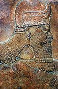 King Ashurnasirpal II from   Nimrud, c 865 BC