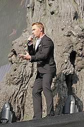 © Licensed to London News Pictures. 13/07/2014, UK. Ronan Keating. Boyzone, play British Summer Time at Hyde Park, London UK, 13 July 2014. Photo credit : Brett D. Cove/Piqtured/LNP