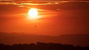 Sunset over western Costa Rica, seen from Monteverde
