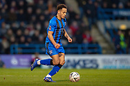 Gillingham FC midfielder Elliott List (15)  during The FA Cup 3rd round match between Gillingham and Cardiff City at the MEMS Priestfield Stadium, Gillingham, England on 5 January 2019. Photo by Martin Cole.