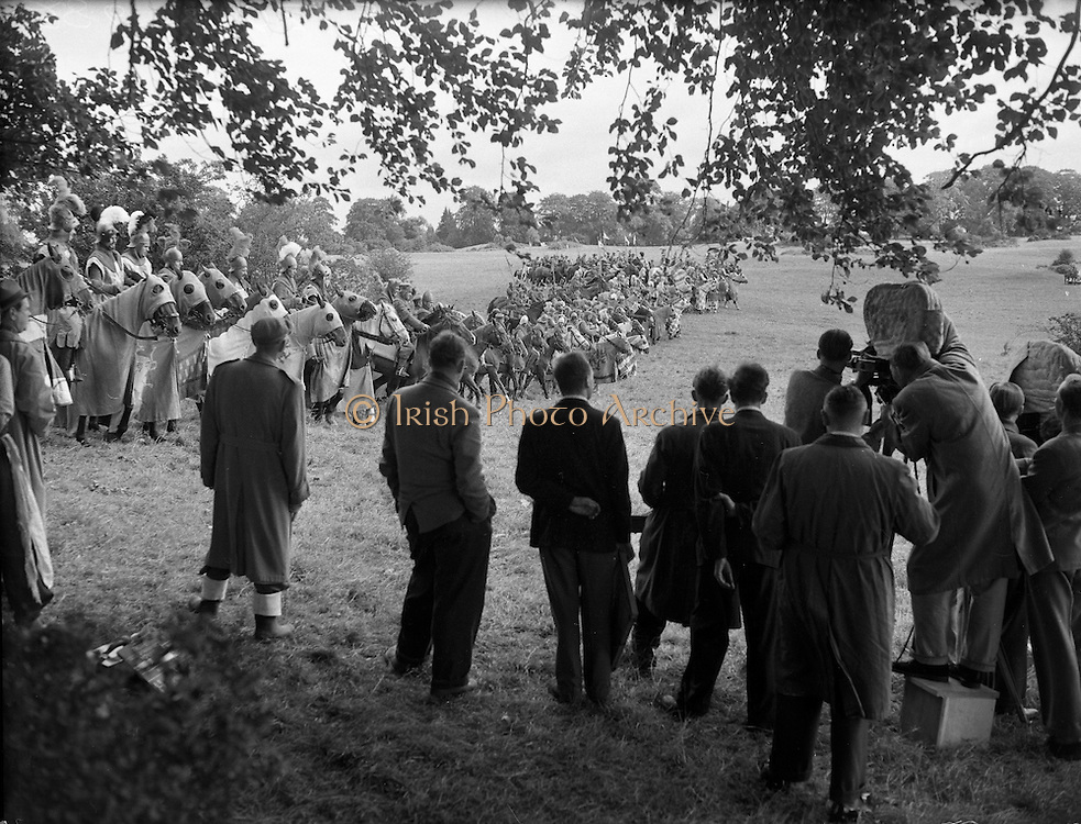 Film - 'The Knights of the Round Table' at Luttrellstown Castle, Castleknock, Co. Dublin.25/08/1953