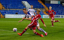BIRKENHEAD, ENGLAND - Tuesday, September 29, 2020: Liverpool's Jack Bearne during the EFL Trophy Northern Group D match between Tranmere Rovers FC and Liverpool FC Under-21's at Prenton Park. Tranmere Rovers won 3-2. (Pic by David Rawcliffe/Propaganda)