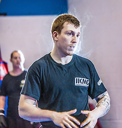 KMG instructor Jon Bullock takes the KMG Instructor Update today at SMAC, Alloa.<br /> © Michael Schofield.
