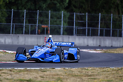 August 31, 2018 - Portland, Oregon, United Stated - ED JONES (10) of the United Arab Emirates takes to the track to practice for the Portland International Raceway at Portland International Raceway in Portland, Oregon. (Credit Image: © Justin R. Noe Asp Inc/ASP via ZUMA Wire)