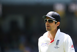 © Licensed to London News Pictures. 29/12/2013. England captain Alastair Cook during Day 4 of the Ashes Boxing Day Test Match between Australia Vs England at the MCG on 29 December, 2013 in Melbourne, Australia. Photo credit : Asanka Brendon Ratnayake/LNP