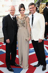 Jake Wood, Jacqueline Jossa and Scott Maslen.arriving at the British Academy Television Awards in London, Sunday , 27th May 2012.  Photo by: Stephen Lock / i-Images