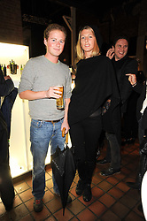 GUY PELLY and SUSANNAH WARREN at the Launch of Peroni Nastro Azzurro Accademia del Film Wrap Party Tour held atThe Boiler House, 152 Brick Lane, London E1 on 25th August 2010.