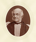'George Moberley (1803-1885) c1877, English churchman: Headmaster of Winchester College 1835-1866. Bishop of Salisbury from 1869.'