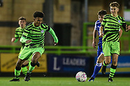 Forest Green Rovers Ollie Artwell(37) \ob\ during the FA Youth Cup match between Forest Green Rovers and Helston Athletic at the New Lawn, Forest Green, United Kingdom on 29 October 2019.