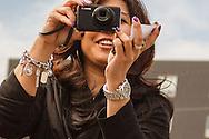 Cari Gushiken, Adobe's Customer Engagement Manager, led the Adobe Photowalk near the San Francisco Adobe office.