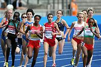 Friidrett , 18. august 2009 , VM Berlin , <br /> Maryam Yusuf Jamal , BRN ,  , Viola Jelagat Kibiwot , KEN , Meskerem Assefa , ETH ,  Mariem Alaoui Selsouli , MAR , 1500 meter