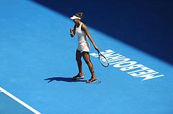 January 22, 2018 - France - Melbourne centre - Flinders Park stade -  Madison Keys USA (Credit Image: © Panoramic via ZUMA Press)