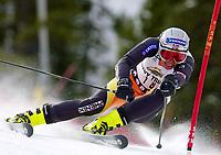 Alpint: Verdenscup. 21.11.2001 Copper Mountain, USA,<br />Die Norwegerin Andrine Flemmen am Mittwoch (21.11.2001) im 1.Lauf beim Ski Alpin Weltcup Riesenslalom der Damen in Copper Mountain, USA. <br /><br />Foto: Digitalsport
