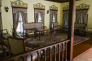 Interior of the Balabanov house in the old town of Plovdiv Bulgaria
