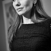 Miss Olga , seductive black lace .