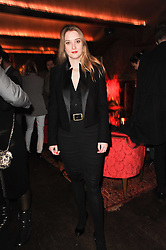 DAISY DE VILLENEUVE at a party to re-launch Downstairs at Momos, Momos, Heddon Street, London on 22nd February 2010.