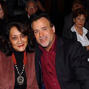 Corrie Konings 35 jaar in vak, George Baker en vrouw Blanche, Hans Bouwens