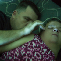 With the house finally settled down to sleep, Mike and Desiree find a moment of their own.