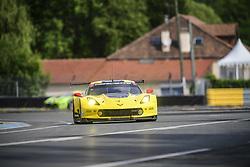 June 4, 2017 - Le Mans, France - 64 CORVETTE RACING (USA) CHEVROLET CORVETTE C7R LMGTE PRO OLIVER GAVIN (GBR) TOMMY MILNER (USA) MARCEL FASSLER  (Credit Image: © Panoramic via ZUMA Press)