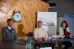 Riesenbeck, Pferdesportzentrum, RIESENBECK - Int. Deutsche Meisterschaften Springen 2020,<br /> <br /> BEERBAUM Ludger (Veranstalter), BECKER Otto (Bundestrainer Springreiten), STUEBEL Susanne (Pressechefin) <br /> Virtuelle Pressekonferenz<br /> <br /> 03. December 2020<br /> © www.sportfotos-lafrentz.de/Stefan Lafrentz