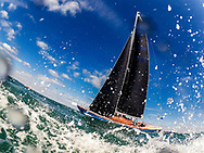 The modern classic, Helen of Durgan pictured while competing on the Solent off the Isle of Wight during the Panerai British Classic Week, the premier classic yacht regatta in the UK which is now in it's 16th year. <br /> Picture date Monday 10th July, 2017.<br /> Picture by Christopher Ison. Contact +447544 044177 chris@christopherison.com