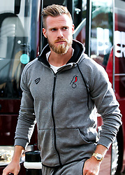 Tomas Kalas of Bristol City arrives at Pride Park for the Sky Bet Championship fixture against Derby County  - Mandatory by-line: Robbie Stephenson/JMP - 20/08/2019 - FOOTBALL - Pride Park Stadium - Derby, England - Derby County v Bristol City - Sky Bet Championship