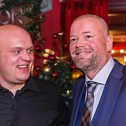 NLD/Rijswijk/20191119 - Boekpresentatie Raymond van Barneveld - Game Over, Raymond van Barneveld en Michael van Gerwen