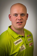 Michael van Gerwen pictured at the Brighton Centre in Brighton, East Sussex for Betway Premier League Darts. Picture date: Thursday 15th May, 2014. Photo credit should read: Chris Ison.