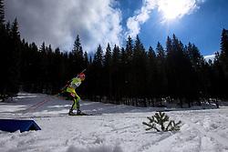 HASILLA Tomas of Slovakia during Men 10 km Sprint of the e.on IBU Biathlon World Cup on Thursday, March 6, 2014 in Pokljuka, Slovenia. The first e.on IBU World Cup stage is taking place in Rudno polje - Pokljuka, Slovenia until Sunday March 9, 2014. Photo by Matic Klansek Velej / Sportida