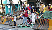 KAOHSIUNG, CHINA - AUGUST 04: (CHINA OUT) <br /> <br /> Gas Explosion Rips up entire road in china<br /> <br /> Volunteers come to disaster area after Kaohsiung\'s gas explosion on August 4, 2014 in Kaohsiung, Taiwam of China. Part of the pipeline was found wornout after 4 days of investigations. <br /> ©Exclusivepix
