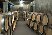 barrel aging cellar domaine huguenot p & f marsannay cote de nuits burgundy france