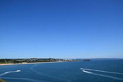 Jet skis, Tenby, Pembrokeshire South Wales July 2021