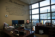 DURANT, OKLAHOMA - MARCH 24:  Durant City Manager, Tim Rundel, poses for a portrait at his office in Durant, Oklahoma on March 24, 2017. (Photo by Cooper Neill for The Washington Post)