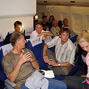 Miss Nederland 2003 reis Turkije, organisator Hans konings