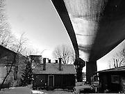 Nya järnvägsbron över Årstaviken