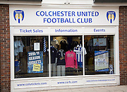 Colchester United Football Club shop, Colchester, Essex