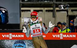 30.12.2018, Schattenbergschanze, Oberstdorf, GER, FIS Weltcup Skisprung, Vierschanzentournee, Oberstdorf, 1. Wertungsdurchgang, im Bild Constantin Schmid (GER) // Constantin Schmid of Germany during his 1st Competition Jump for the Four Hills Tournament of FIS Ski Jumping World Cup at the Schattenbergschanze in Oberstdorf, Germany on 2018/12/30. EXPA Pictures © 2018, PhotoCredit: EXPA/ Peter Rinderer