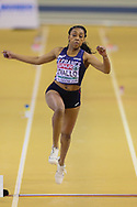 Rouguy Diallo (France), Women's Triple Jump, during the European Athletics Indoor Championships at Emirates Arena, Glasgow, United Kingdom on 3 March 2019.