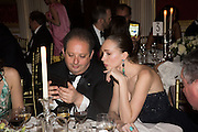 PROF. MARK KAUFMAN, ; ANASTASIA SHATOKINA; Professor Mikhail Piotrovsky Director of the State Hermitage Museum, St. Petersburg and <br /> Inna Bazhenova Founder of In Artibus and the new owner of the Art Newspaper worldwide<br /> host THE HERMITAGE FOUNDATION GALA BANQUET<br /> GALA DINNER <br /> Spencer House, St. James's Place, London<br /> 15 April 2015