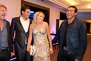 JAMES ARGENT;; LYDIA BRIGHT;  TAMER HASSAN, The London Bar and Club awards. Intercontinental Hotel. Park Lane, London. 6 June 2011. <br /> <br />  , -DO NOT ARCHIVE-© Copyright Photograph by Dafydd Jones. 248 Clapham Rd. London SW9 0PZ. Tel 0207 820 0771. www.dafjones.com.
