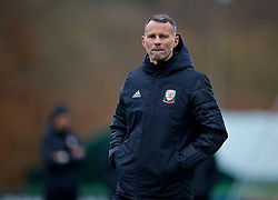 CARDIFF, WALES - Monday, November 19, 2018: Wales' manager Ryan Giggs during a training session at the Vale Resort ahead of the International Friendly match between Albania and Wales. (Pic by David Rawcliffe/Propaganda)