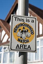 Neighbourhood Watch sign,