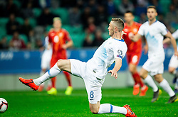 Jasmin Kurtič of Slovenia during football match between National teams of Slovenia and North Macedonia in Group G of UEFA Euro 2020 qualifications, on March 24, 2019 in SRC Stozice, Ljubljana, Slovenia. Photo by Vid Ponikvar / Sportida