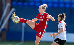 BIRKENHEAD, ENGLAND - Easter Sunday, April 4, 2021: Liverpool's Rhiannon Roberts during the FA Women's Championship game between Liverpool FC Women and Lewes FC Women at Prenton Park. (Pic by David Rawcliffe/Propaganda)