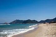 Grumari beach in Rio de Janeiro, Brazil.