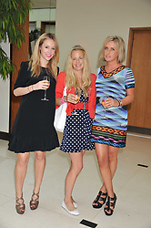Left to right, EVEIE LONGDON, ASTRID HARBORD and LUCIE  HIRST at the Veuve Clicquot Mint Polo in The Park after party held at The Hurlingham Club, Ranelagh Gardens, London SW6 on 5th June 2011.