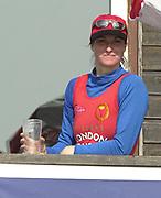 Putney to Mortlake, Thames World Sculling Challenge<br /> <br /> Photo Peter Spurrier<br /> 29/03/2002<br /> 2002 Thames World Sculling Challenge<br /> Claudia Blasberg