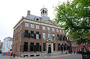 Leeuwarden is de hoofdstad van de Nederlandse provincie Friesland / Leeuwarden is the capital of the Dutch province of Friesland<br /> <br /> Op de foto / On the photo:  Stadhuis op het Hofplein / City Hall